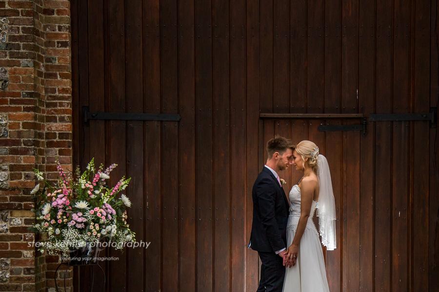 Spring Tithe Barn Wedding