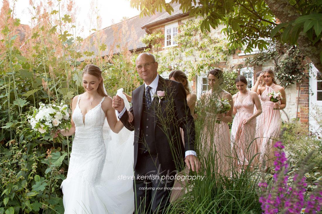 Bury Court Barn Wedding Photograph 006